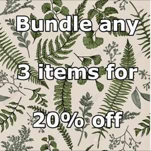 Other - Bundle 3 for 20% off